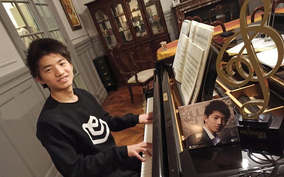 LE PARISIEN: Fontainebleau: le prodige du piano Paul Ji monte en gamme