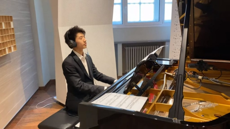 Anglophonesection Fontainebleau: Paul Ji appointed as Young Steinway Artist